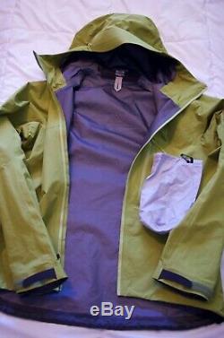 Arc'teryx Alpha Fl Gore Tex Pro Jacket Medium Bamboo Men
