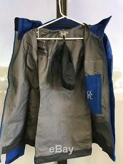 Arc'teryx Alpha Fl Jacket Femmes Moyenne M Gore-tex Pro Beta Étanche Gamma