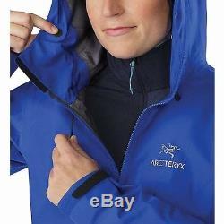 Arc'teryx Alpha Fl Veste Gore-tex Pro Somerset Bleu Femme Medium