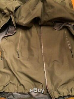 Arc'teryx Alpha Leaf Veste De Combat Imperméable Gen 2 XXL Tn-o Pdsf 759 $