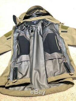 Arc'teryx Alpha Leaf Veste Gen1 Moyen Crocodile Seal Nswdg Devgru Sof Special Forces