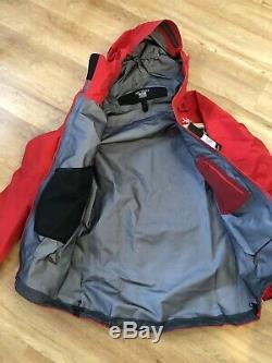 Arc'teryx Alpha Patrol Pro Veste Rouge Moyen Nouveau