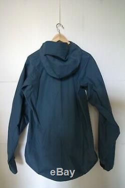 Arc'teryx Alpha Sl Bleu Smoke M / Medium Goretex Rain Jacket