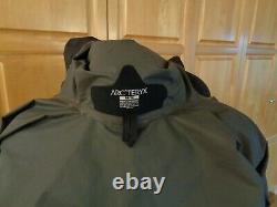 Arc'teryx Alpha Sl Gore-tex Black Jacket Mens Sz Medium 40 Chest Style 15179