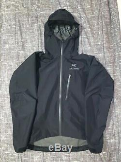 Arc'teryx Alpha Sl Jacket Mens Taille Moyenne Couleur Noir (tn-o)