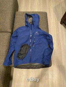 Arc'teryx Alpha Sl Jacket Shell Homme Taille Moyenne Triton Bleu