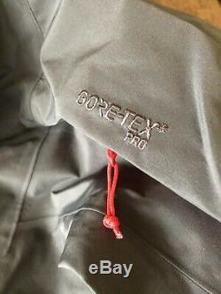 Arc'teryx Alpha Sv Gore-tex Pro Jacket / Mens Medium / Pilote / Tn-o