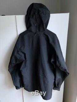 Arc'teryx Alpha Sv Gore-tex Pro Shell Fait Au Canada La Taille Des Hommes M Col. Noir Used