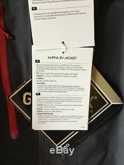 Arc'teryx Alpha Sv Jacket - Homme, Territoires Du Nord-ouest, Pilote. Tout Neuf. Couleur De Pilote. N