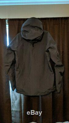 Arc'teryx Alpha Sv Jacket Hommes Gris Moyen Nouveau Pdsf 749 $