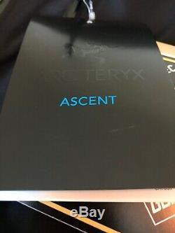 Arc'teryx Alpha Sv Jacket Hommes Noir Moyen Neuf Avec Étiquettes