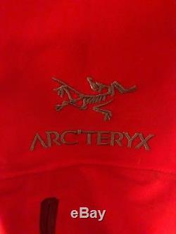 Arc'teryx Alpha Sv Jacket Hommes Rouge Moyen