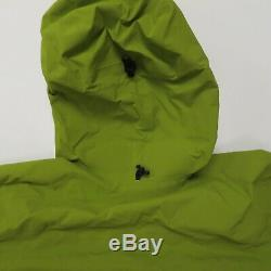 Arc'teryx Alpha Sv Jacket Mens Medium Hoodie Vert Du Canada Gore-tex Hardshell