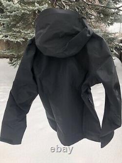 Arc'teryx Alpha Sv Jacket Mens Medium M 24k Black Made In Canada New Nwt 2021