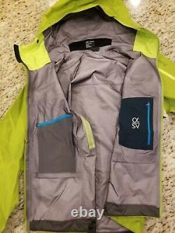 Arc'teryx Alpha Sv Jacket Mens Medium (flambant Neuf Avec Tags) Color Utopia