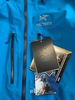 Arc'teryx Alpha Sv Veste De Moyenne Adriatique Les Nouveaux Hommes Avec Des Étiquettes