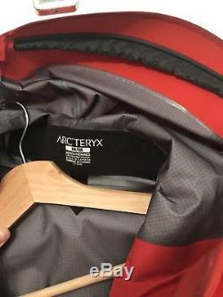 Arc'teryx Alpha Sv Veste En Gore-tex Pro Pour Homme Moyenne - Magma (rouge)