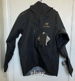 Arc'teryx Alpha Sv Veste Homme Gore-tex Waterproof Black Size Small Large 799 $