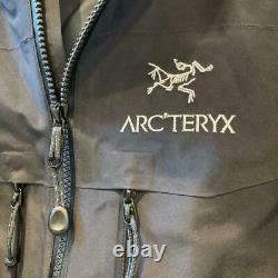 Arc'teryx Alpha Sv Veste Homme Noir Taille M Utilisé Du Japon F/s