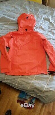 Arc'teryx Alpha Sv Veste Mens Taille M Couleur Cardinal Canada Fait Pdsf 785,00 $