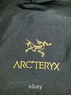 Arc'teryx Alpha Sv Veste Moyenne 24k Homme Noir 25681 Avec De Nouvelles Balises