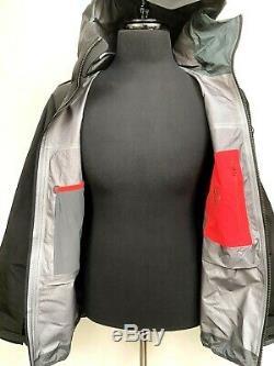 Arc'teryx Alpha Sv Veste Noire Gtx Pro Shell Recco Moyenne 799 $ Canada Nouveau Made