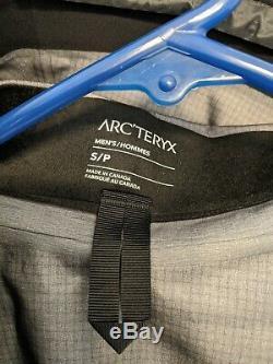 Arc'teryx Alpha Sv Veste Taille De Mens Petit 24k Noir