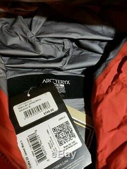 Arc'teryx Alpha Sv Veste -gore-tex Pro Authentique 1ère Qualité Mens Nwt Cardinal