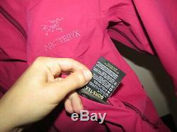 Arc'teryx Alpha-sl Veste Gore-tex Paclite Femmes Shell Xs $ 450rp