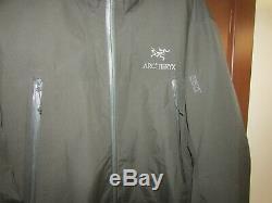 Arc'teryx Alpha-sl Veste Gore-tex Paclite Shell Mens Medium Rare 450rp $