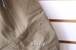Arc'teryx Leaf Alpha Gen 2 Veste Couleur Crocodile Fabriqué Au Canada Militaire