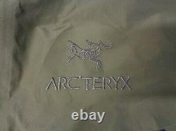 Arc'teryx Leaf Alpha Lt Jacket Gen 2 Crocodile Homme Moyen 18864 Gore-tex