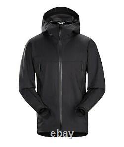 Arc'teryx Leaf Alpha Lt Jacket Gen 2 Noir Moyen Gore-tex Veilance