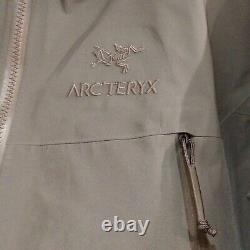 Arc'teryx Leaf Alpha Lt Veste En Nylon Gen2 Loup Gris Taille M Fabriqué Au Canada