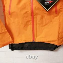Arc'teryx W's Alpha Sl Nylon Women's Mountain Parka Jacket Taille M Orange Nouveau