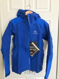 Arctery'x Alpha Ar Jacket Pour Femmes. Taille Gore-tex Medium. Bleu Somerest