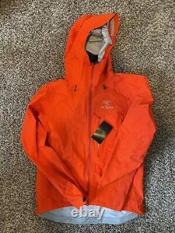 Arcteryx Alpha Fl Gore-tex Jacket Rouge Moyen Homme (flare Ou Magma)