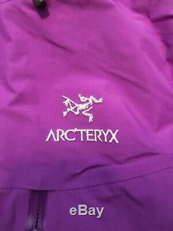 Arcteryx Alpha Fl Veste Gore-tex Pro Femme Moyenne Pourpre - Légèrement Usée