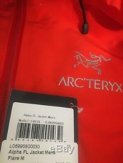 Arcteryx Alpha Fl Veste Hommes Moyenne