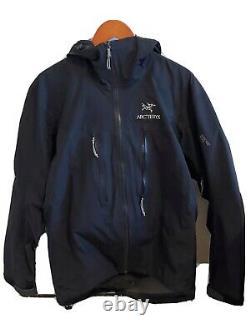 Arcteryx Alpha Lt Hoody Jacket Noir Moyen