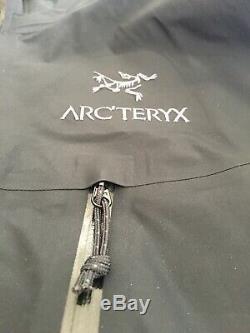 Arcteryx Alpha Lt Veste Gore-tex Pro Noir Taille Moyenne Fabriqué Au Canada
