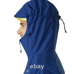 Arcteryx Alpha Sl Mens Jacket Triton Gore-tex Waterproof Breathable Blue Medium