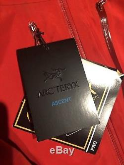 Arcteryx Alpha Sv Hommes Veste Medium / Cardinal