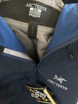 Arcteryx Alpha Sv Jacket Encrier Moyen Pour Homme, Neuf Avec Étiquettes