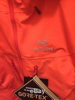 Arcteryx Alpha Sv Jacket Femmes Grandes Ou Moyennes Hommes. Brand New With Tags