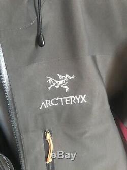 Arcteryx Alpha Sv Jacket Grain De Café Pour Homme Moyen M Fabriqué Au Canada Arcteryx