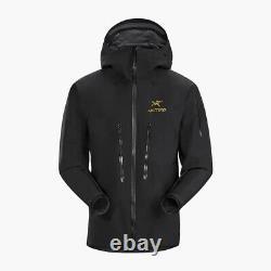 Arcteryx Alpha Sv Jacket Noir 24k Taille Homme Moyen Nouveau Avec Tags