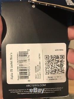 Arcteryx Alpha Sv Poséidon Tno Moyen Pour Homme 750 $