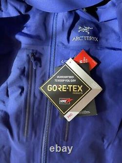Arcteryx Alpha Sv Veste / Hommes Moyenne / Couleur Soulsonique / T.n.-o.