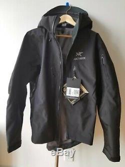 Arcteryx Alpha Sv Veste Noir Hommes Moyenne